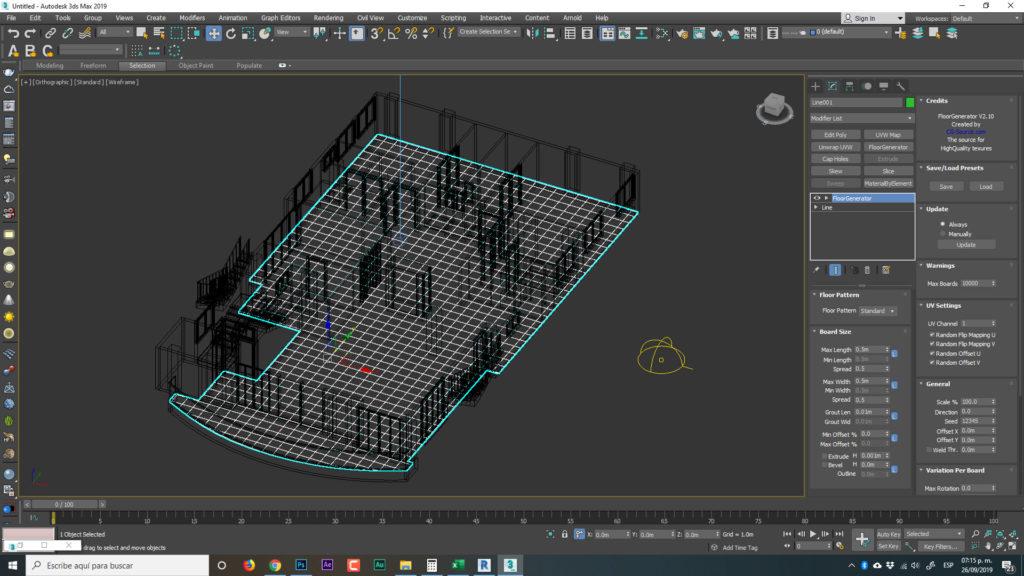 floorgenerator 3d max