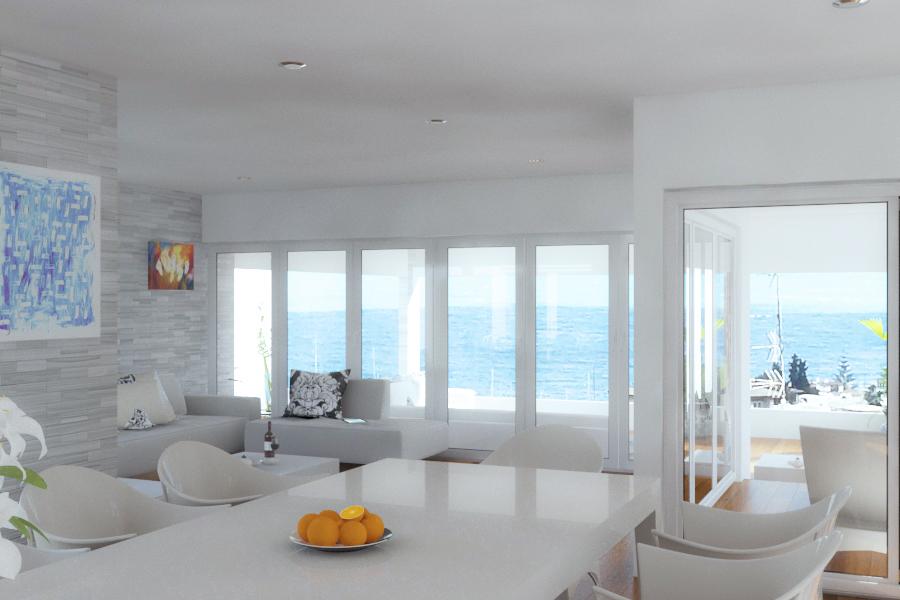 casa de playa renders