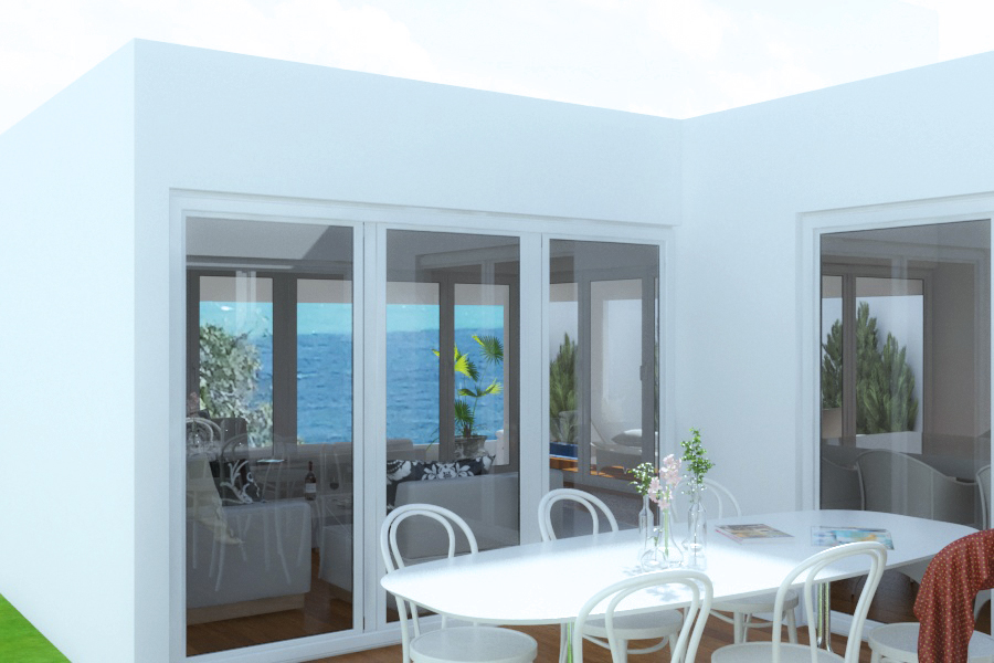 casa de playa renders 3