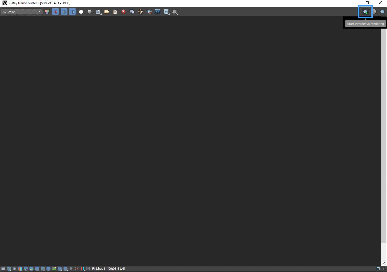 start render interactive
